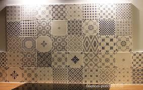 4 murs papier peint cuisine papier peint cuisine 4 murs 10 fa239ences de ponchon carreaux