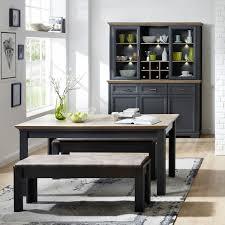 esszimmer möbel set landhaus esszimmertisch sitzbänke