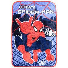 Spiderman Twin Bedding by Bonus Blanket With Marvel Spiderman 4pc Toddler Bedding Set
