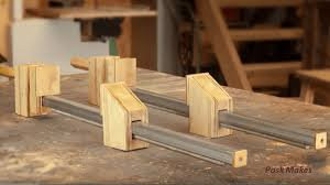 Video Homemade Wood Bar Clamps Made Easy