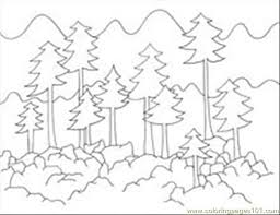 Perfect Forest Coloring Pages 23 In Free Book With