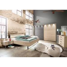 casavanti schlafzimmer set brüssel steineiche schiefergrau