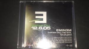 Eminem Curtains Up Encore Version by Eminem Curtain Call The Hits Album Sampler Cd Review Youtube