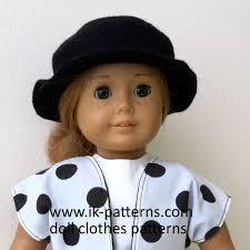 SIMPLICITY AMERICAN GIRL DOLL CLOTHES FOR 18 DOLLONE SIZE