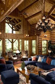 Popular Wrought Iron Chandeliers Log Cabin Decor Ideas House Home
