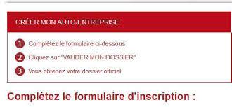 inscription chambre de commerce auto entrepreneur le statut d auto entrepreneur en quelques mots lbdd