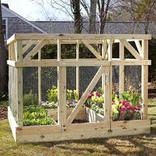 Build an Enclosure to Protect Your Garden