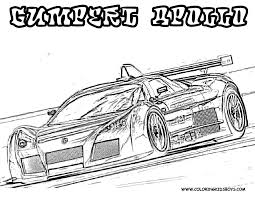 Free Printable Coloring Pages Nascar Cars