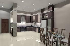 minimalist kitchen ideas with breakfast nook and recessed