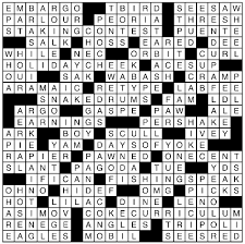 Cabinet Dept Crossword Puzzle Clue by Lax Crossword Com U0026 Calyx Part Crossword Clue Archives