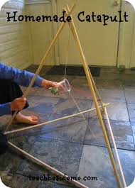 Homemade Catapult Woodworking Project For Kids