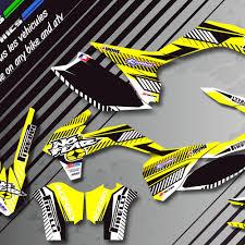 kit deco 400 drz drz 400 motocross custom graphics