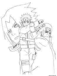 Coloriages Naruto Shippuden In 35 Elégant Dessin A Imprimer Simpson