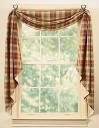 Amazon Prime Kitchen Curtains by Amazon Com Park Designs Saffron Fishtail Swag Home U0026 Kitchen