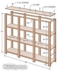 easy economical garage best picture garage shelf plans home
