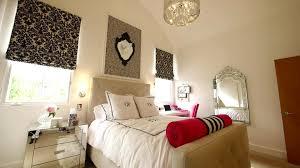 Teen Girl Bedroom Ideas Of Low Profiles Black Painted Wooden Platform Beds