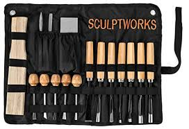 best wood carving tool set 16 piece from sculptworks beginners