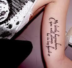 Quotes Tattoo Designs 67