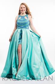 rachel allan plus size 2016 prom dress 7408