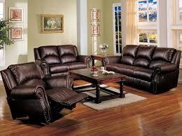 leather sofa living room ideas dark brown sofa inspiring with