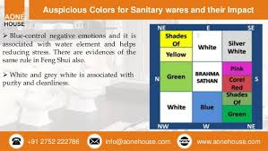Color For Bathroom As Per Vastu by Bathroom Accessories And Color Selection As Per Vastu