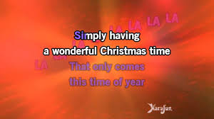 Rockin Around The Christmas Tree Karaoke Miley by Karaoke Wonderful Christmastime Demi Lovato Youtube