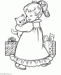 Cute Kitten Coloring Pages Free Printable 74812