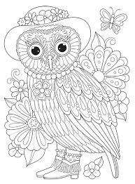 Full Size Of Coloring Pagesgroovy Pages Appealing Groovy Lady Owl Page