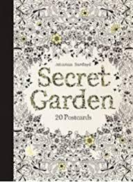 Card Book 799 Prime Secret Garden 20 Postcards