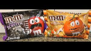 Pumpkin Spice Mms Target by M U0026m U0027s White Pumpkin Pie And Cookies U0026 Screeem Review Youtube