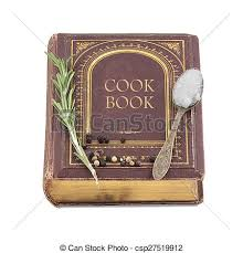 vieux livre de cuisine livre cuisine vieux isolé fond blanc épices photographie de