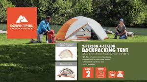 Ozark Trail 2-Person 4-Season Tent With 2 Vestibules And Full Fly ... Napier Truck Tent Compact Short Box 57044 Tents And Ozark Trail Kids Walmartcom 2person 4season With 2 Vtibules Full Fly 7person Tpee Without Center Pole Obstruction The Best Bed December 2018 Reviews Camping Smittybilt Ovlander Xl Rooftop Overview Youtube Instant 13 X 9 Cabin Sleeps 8 3 Room Tent Part 1 12person Screen Porch Lweight Alinum Frame Bpacking Person Room