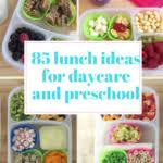 Filder UnderDaycare Lunch Lunchbox Ideas