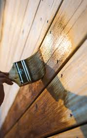 Restaining A Deck Do It Yourself by How To Stain A Fence An Easy Fence Staining Guide
