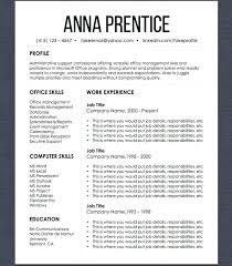 Resume Template Job Search Organizer Set Design Modern Layout Microsoft Office For Cover Letter Organizing
