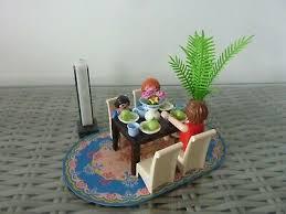 playmobil 5335 esszimmer tisch 4 stühle eur 5 00
