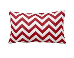 Decorative Lumbar Pillows For Bed by Zig Zag Pillow Etsy