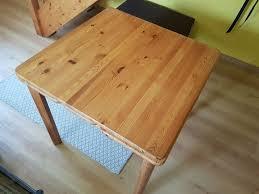 tisch aus echtholz kiefer für küche esszimmer etc in