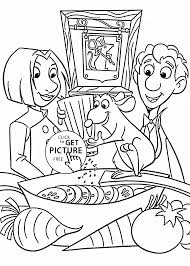 Prissy Ideas Cooking Coloring Pages Ratatouille For Kids Printable Free