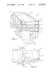 Patent US4723817 - Controllable Tailgate For Dump Truck - Google Patents
