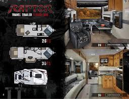 Raptor 5th Wheel Toy Hauler Floor Plans by 2012 Keystone Raptor Toy Haulers