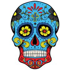 Calaveras Mexicanas Diseños En Color Guatelinda