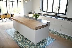 photo de cuisine design ilot bois cuisine ilot central cuisine bois 834452 design et