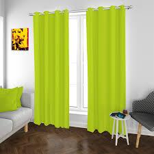 2er set ösenvorhang vorhänge grün 140x260 cm gardinen schal dekoschal wohnzimmer