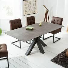details zu industrial esstisch toronto 180cm keramikoptik esszimmertisch küchentisch tisch