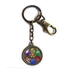 Zelda Triforce Lamp Amazon by Amazon Com The Legend Of Zelda Triforce Keychain Key Chain Key
