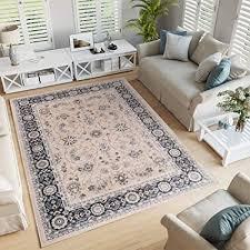tapiso colorado teppich wohnzimmer klassisch kurzflor orientalisch beige schwarz ziegler ornament muster traditionell orientteppich ökotex 200 x 300