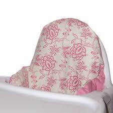 Evenflo Majestic High Chair Cover by Furniture Pink Edwardian Floral Evenflo High Chair Cover For