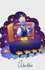 Outertale Grillby X Monster Reader