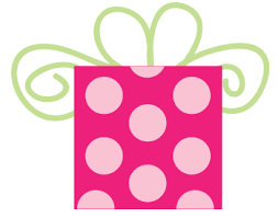 Balloon clipart pink polka dot 6